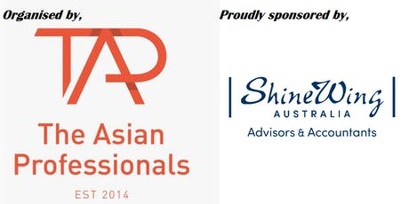The Asian Professionals (TAP)|Networking Evening at ShineWing Australia tickets