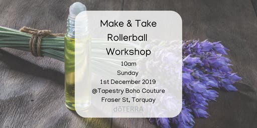 Make & Take doTERRA® Rollerball Workshop