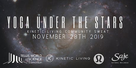 Kinetic Living Community Sweat Yoga Under the Stars tickets