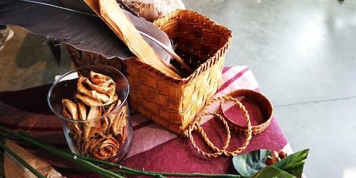Weaving Arts: Cedar Bark Baskets