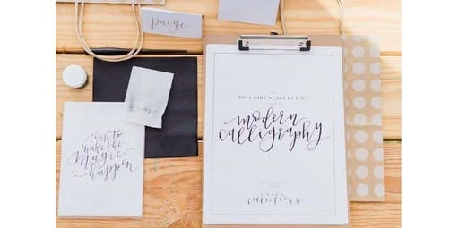 Modern Calligraphy for Beginners with Unika Collections (2019-11-14 starts at 7:00 PM)