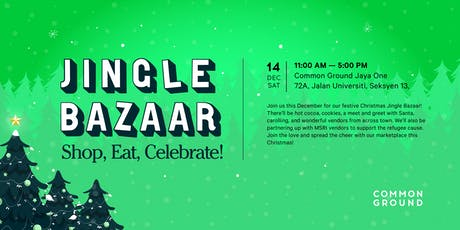Common Ground's Jingle Bazaar 2019! tickets