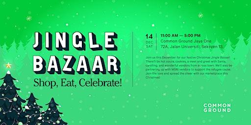 Common Ground's Jingle Bazaar 2019!