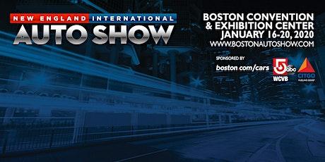 New England International Auto Show tickets