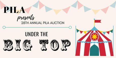 Under the Big Top: 2020 PILA Auction tickets