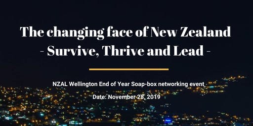 Survive, Thrive & Lead - An NZAL Wellington event
