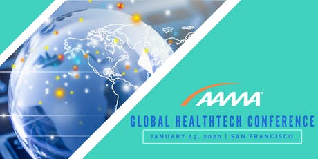 """AAMA Global Healthtech Conference """"AI: The Next Digital Frontier for Healthcare Innovation"""" tickets"""