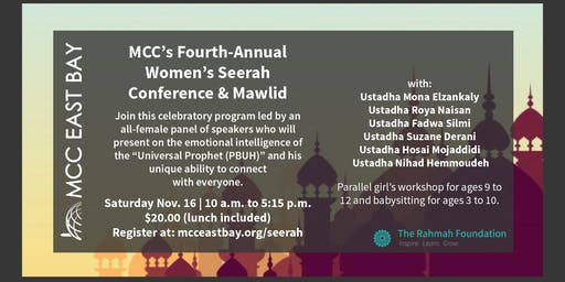 MCC's Fourth-Annual Women's Seerah Conference & Mawlid
