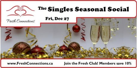 The Singles Seasonal Social tickets