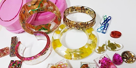 Resin Jewellery Workshop tickets