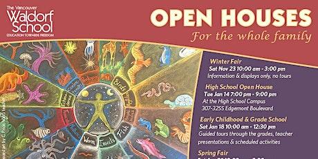 Vancouver Waldorf School Open Houses tickets