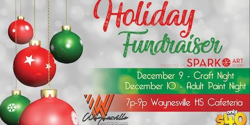 Waynesville Winter Guard Fundraiser - Adult Paint Night