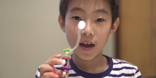 Saturday Family Activity: LED Planes