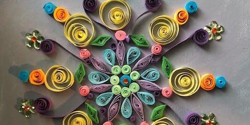Quilled Mystical Mandala