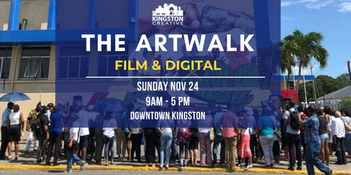 Kingston Creative   The Artwalk: Film & Digital
