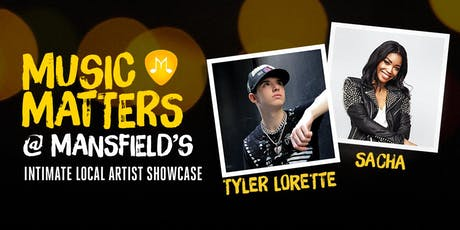 Music Matters at Mansfield's tickets