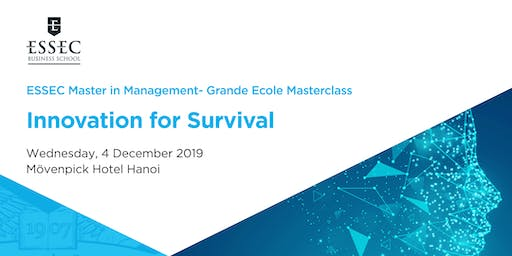 Innovation for Survival -  Master Class by ESSEC Asia-Pacific