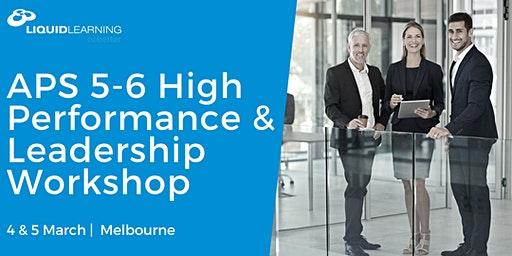 APS 5-6 High Performance & Leadership Workshop