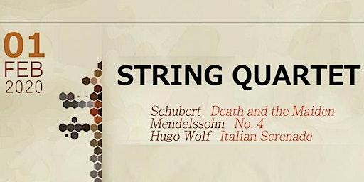 String Quartet Concert in Barrie, ON