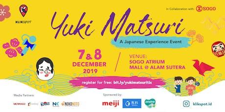 Klikspot: Yuki Matsuri tickets