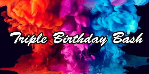 Triple Birthday Bash