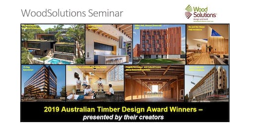 2019 Australian Timber Design Award Winners – presented by their creators