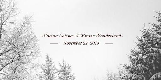 Cocina Latina: A Winter Wonderland
