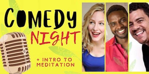 GTS Comedy Night + Meditation Intro