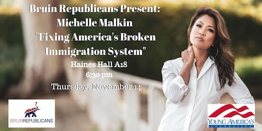 "Michelle Malkin at UCLA: ""Fixing America's Broken Immigration System"""