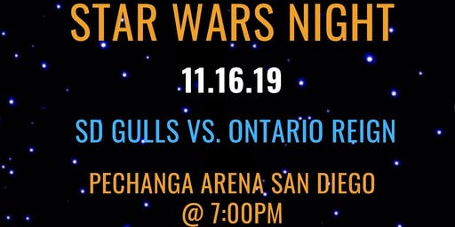 USD GSC Star Wars Night with the Gulls