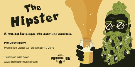 The Hipster - a comedy musical tickets