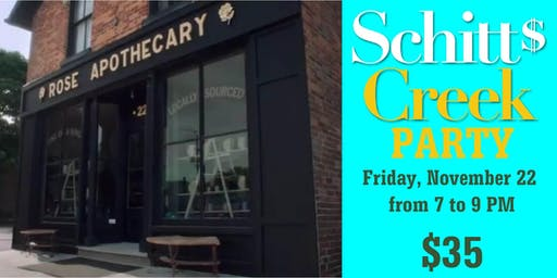 Shitt's Creek's Rose Apothecary Pop-Up Fundraiser at Clear Light