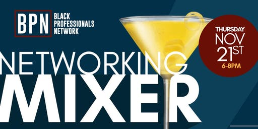 Networking Mixer x Black Professionals Network
