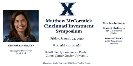 2020 Matthew McCormick Cincinnati Investment Symposium tickets