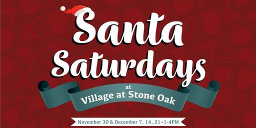 Santa Saturdays at Village at Stone Oak