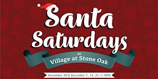 Santa Saturdays at Village at Stone Oak