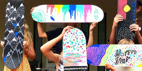 Design your Skate Deck! tickets