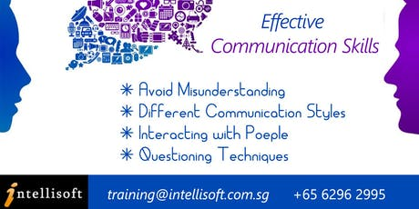 Effective Communication Skill Workshop on 15 Jan 2020, Singapore tickets