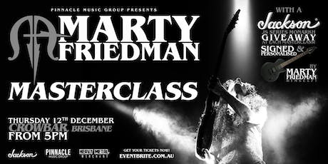 Marty Friedman MASTERCLASS - Brisbane tickets