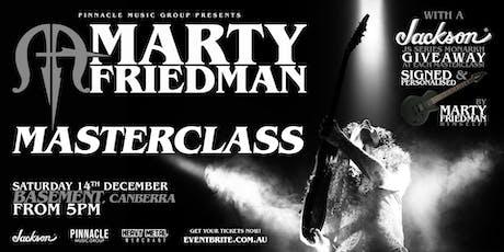 Marty Friedman MASTERCLASS - Canberra tickets