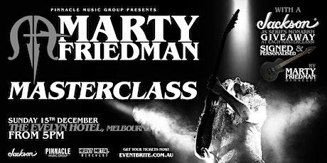 Marty Friedman MASTERCLASS - Melbourne tickets