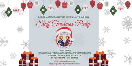 Oakleigh Grammar Staff Christmas Party tickets