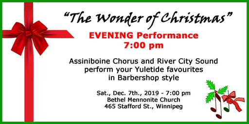 The Wonder of Christmas - Evening Performance