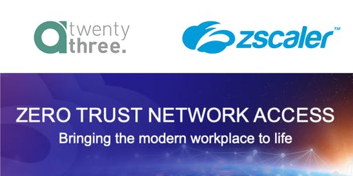 Zero Trust Network Access - Bringing the modern workplace to life
