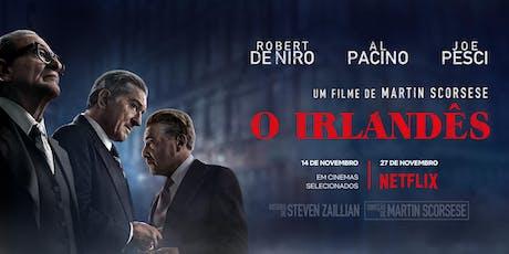 O Irlandês - Estação Net Gávea - Rio de Janeiro - Quarta - Feira  (20/11) ingressos