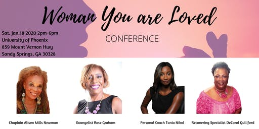 Woman You Are Loved Conference
