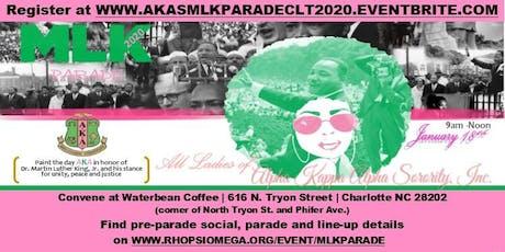 "MLK Parade 2020 CLT - Alpha Kappa Alpha Sorority, Inc. ""Paint the Day AKA"" tickets"