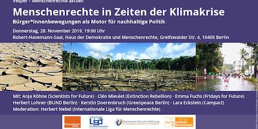 Menschenrechte in Zeiten der Klimakrise