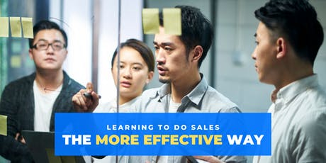 Learning to do sales the more effective way tickets