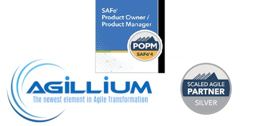 SAFe Product Owner/Product Manager (POPM) 2 day class (GUARANTEED TO RUN)